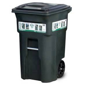 Kitchen Faucets Sacramento toter 64 gal green trash can with wheels and attached lid