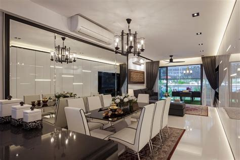 Posh Home Interior by The Sorrento Interior Design Renovation Projects Singapore