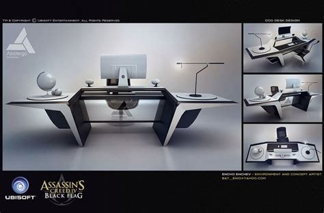 futuristic school desk futuristic pinterest desk design characters art assassin s creed iv