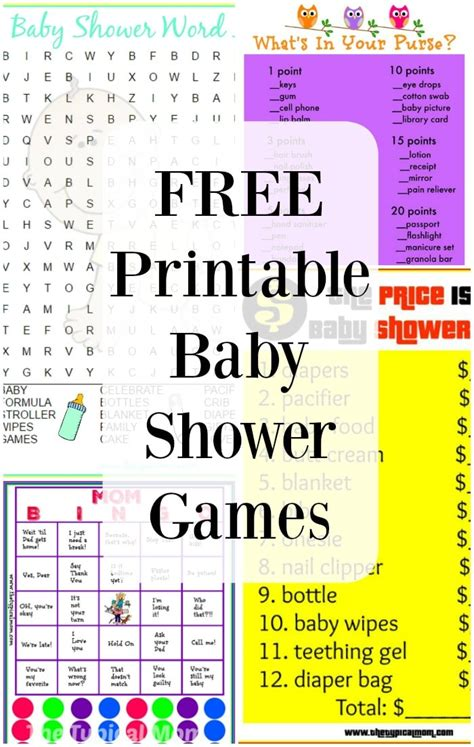 Baby Shower Free Printables by Free Printable Baby Shower 183 The Typical