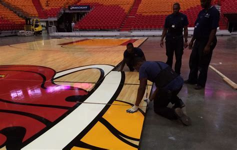 The facts behind flooring for NBA basketball courts   SI.com