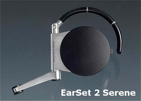 Earset 2 From Olufsen by New Olufsen Serene Bluetooth Headset Esato Archive