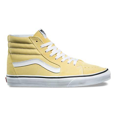 light green high top vans sk8 hi shop shoes at vans