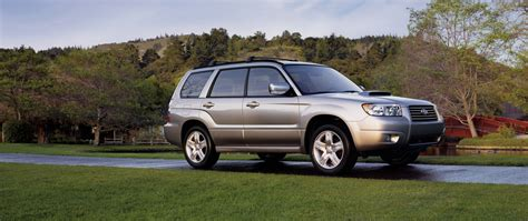 subaru forester old model 2007 subaru forester pictures history value research