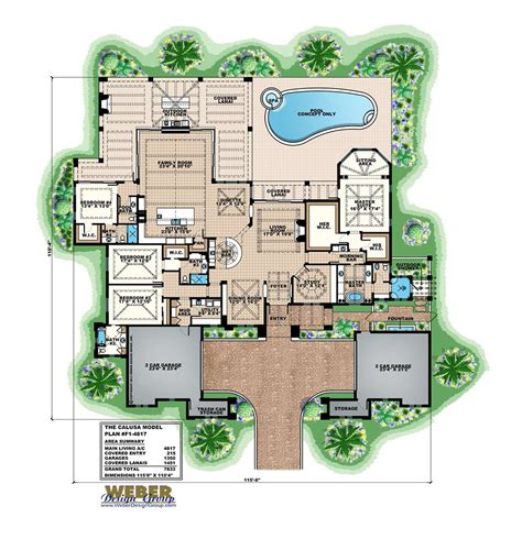 Catalina Home Plan   Weber Design Group
