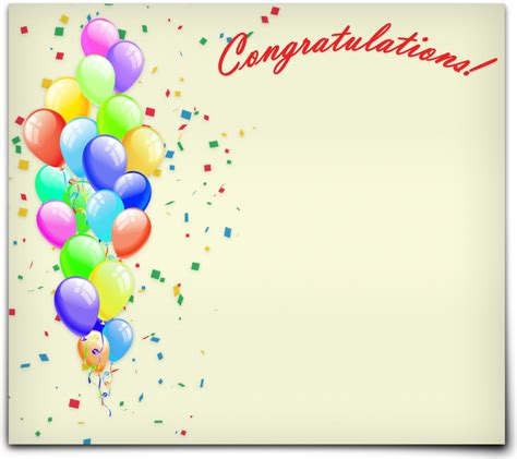 free congratulations card template 30 congratulations template designs certificate templates