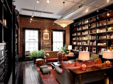 my home design nyc mansion loft library den interior design ideas
