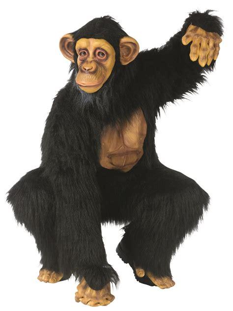 monkey costume deluxe comical chimp costume 130304 fancy dress