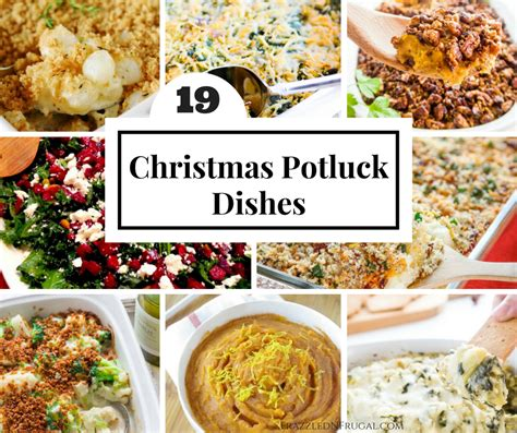 19 christmas potluck dishes frazzled n frugal