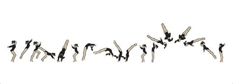 layout gymnastics move a vector gymnast tumbling free download at www christinad