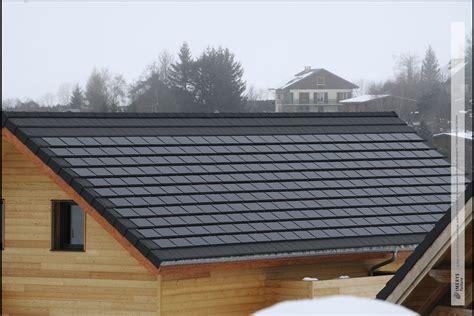 Tuiles Photovoltaique by Des Tuiles Photovolta 239 Ques Performantes Et Esth 233 Tiques
