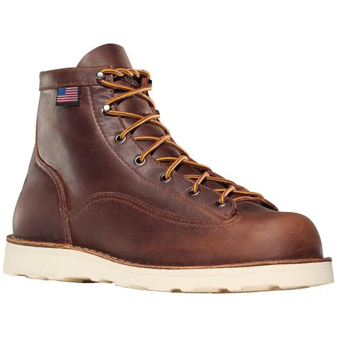 danner steel toe boots danner 174 bull run 6 quot steel toe cristy work boots brown
