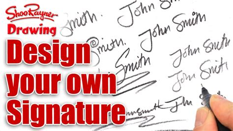How To Make Your Own Signature On Paper - how to design your own amazing signature
