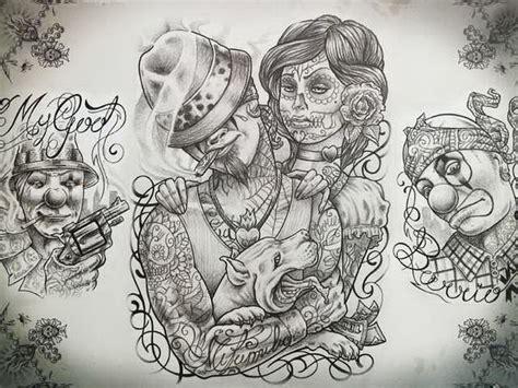 cartoon gangsta tattoo 29 best free cartoon gangster tattoo art images on