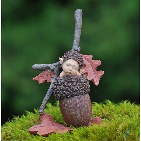 acorn dolls house flower baby acorn miniature fairy garden ebay