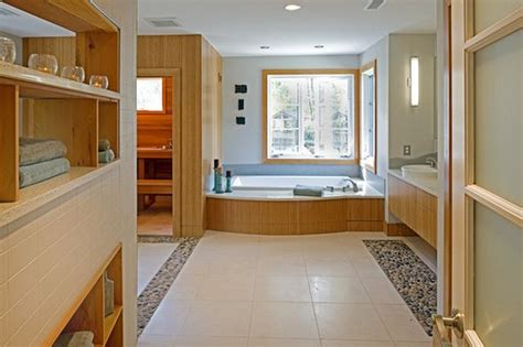 sauna bathtub 17 sauna and steam shower designs to improve your home and