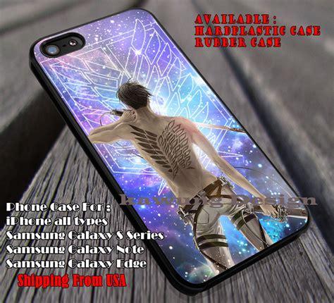 Casing Samsung S5 Attack On Titan Eren Titan Artwork Custom Hardcase levi and scouting legion attack on titan