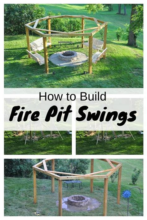 diy pit and swing how to build pit swings the budget diet
