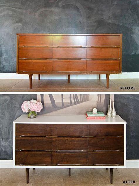 How To Paint Veneer Dresser by How To Stain Paint Veneer Furniture