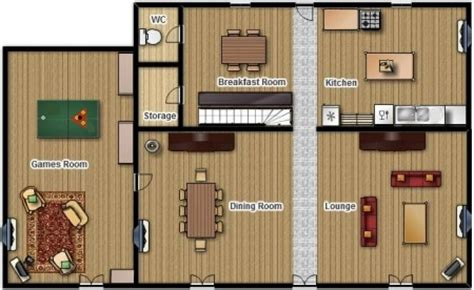 Ranch Style House la pagerie floor plans of the accommodation