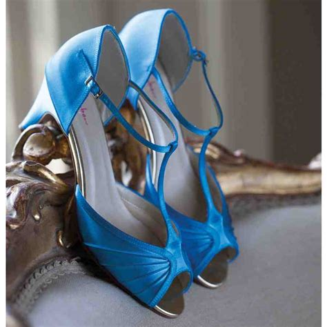 Blue Wedding Shoes For Low Heel by Blue Wedding Shoes Low Heel Wedding And Bridal Inspiration