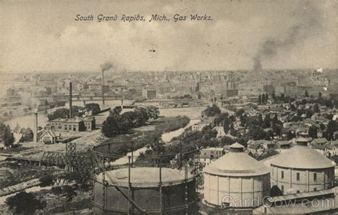 michigan pattern works grand rapids mi gas works grand rapids mi postcard