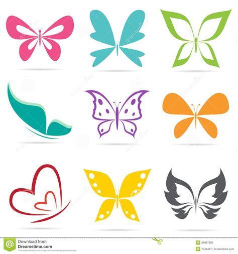 imagenes vectores mariposas grupo del vector de mariposas ilustraci 243 n del vector