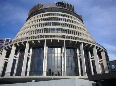 Wellington Parliament Building   The Beehive New Zealand