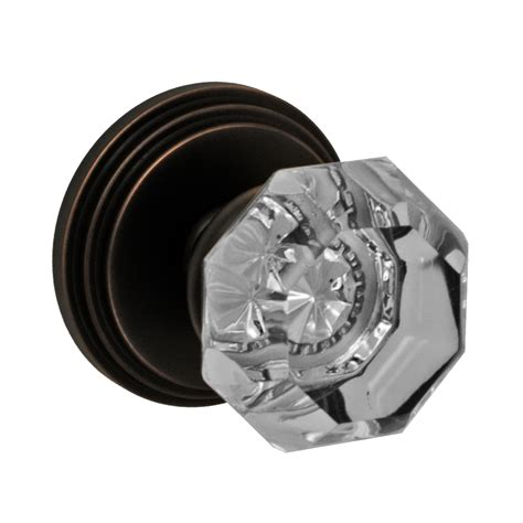 Glass Privacy Door Knobs by Fusion Hardware Decorative Glass Collection