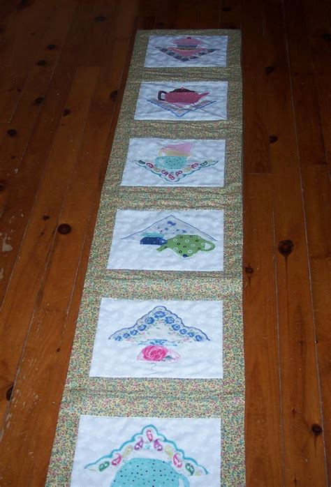 across my kitchen table teatime table runners