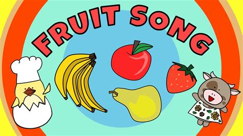 fruit salad song fruit song for the singing walrus