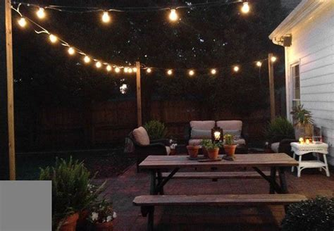 Patio String Light Patio String Lights Outdoor Outside Decor