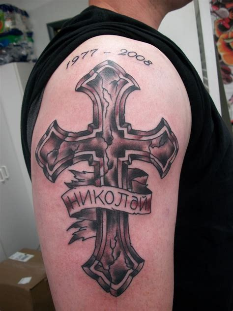 3d cross tattoos for men 105 beautiful 3d cross