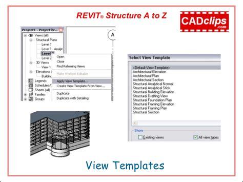 Revit Structure Video Cadclip Training Outline Revit Construction Template