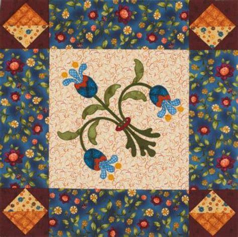 Floral Applique Quilt Patterns by Flower Machine Appliqu 233 Quilts Allpeoplequilt