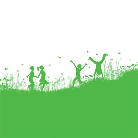 how to get to play in the background android green background about children in the field vector free