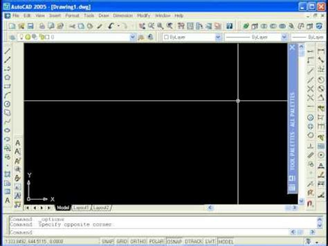 tutorial autocad 2d youtube tutorial autocad 2005 2d lecci 242 n 1 youtube