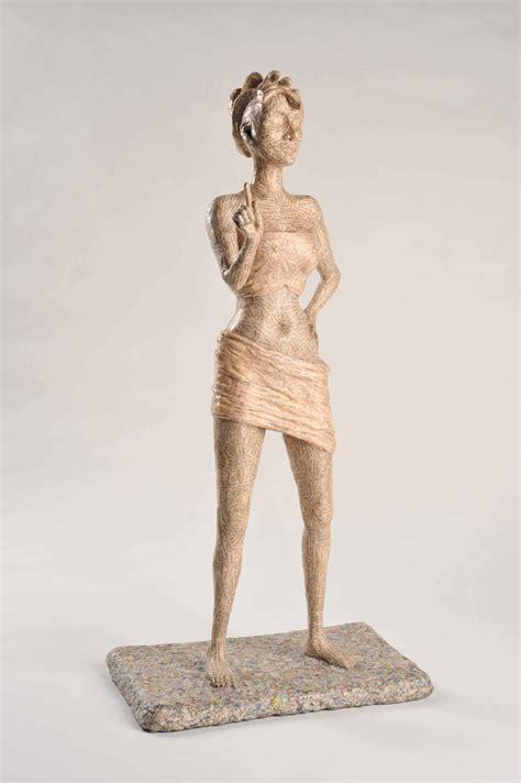 unah papier mache sculpture