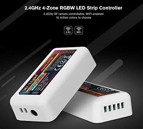 mi light 4 zone control mi light rgbw led strip 2 4ghz rf wireless 4 zone