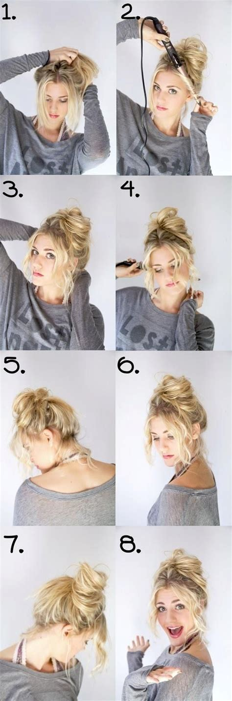 Hairstyles Buns Step By Step by Bun Step By Step Pictures Photos And Images For