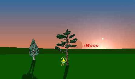 Bulan Set By Sn mungkin hari raya idul fitri 1 syawal 1432 h ini beda lagi