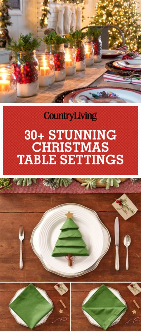 45 best christmas table settings decorations and ideas