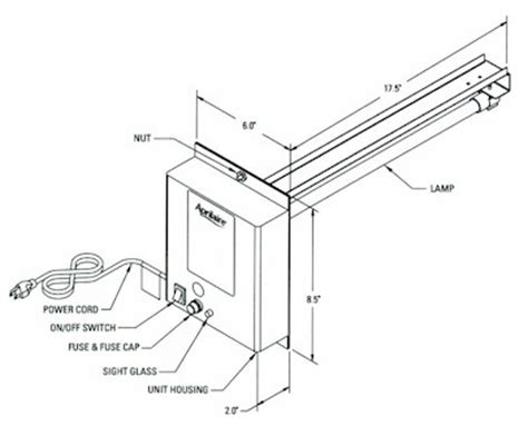 aprilaire change water panel light aprilaire uv light parts aprilaire humidifier parts