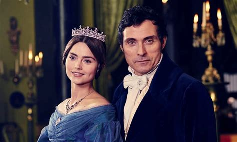 rufus sewell new series victoria with jenna coleman reviews and twitter reactions