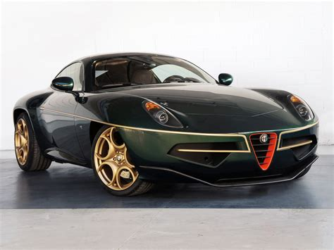 new alfa romeo disco volante geneva preview alfa romeo disco volante in green