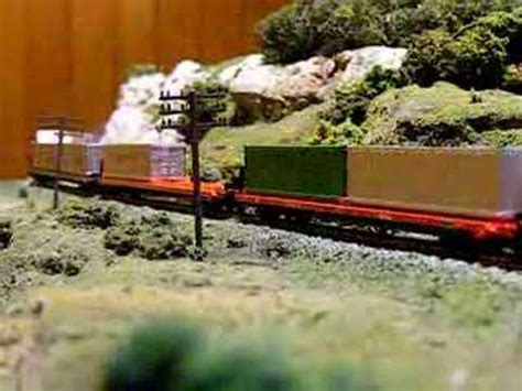 santa fe layout youtube santa fe intermodal train at ksons layout youtube