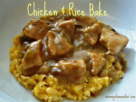 what s for dinner tonight how about chicken and rice bake