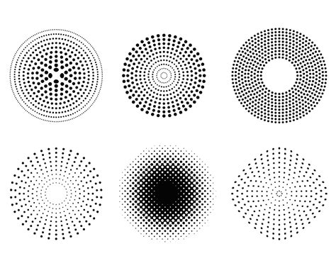 dot vector shape vector free download dots pinterest dot patterns dots and halftone pattern vector