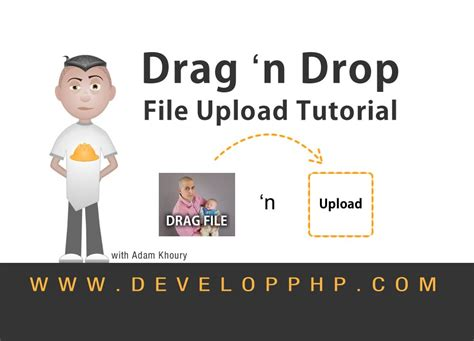 javascript drag and drop tutoriale video file upload drag and drop tutorial html5 javascript php