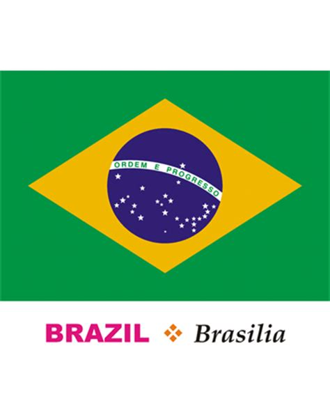 brazil flag coloring page